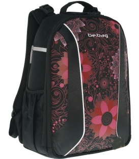 Σχολική Τσάντα be bag Λουλουδια Herlitz