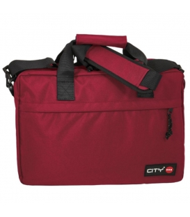 Τσάντα laptop City Lyc Sac sangria red line