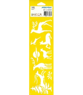 Στένσιλ 1455 ελάφια