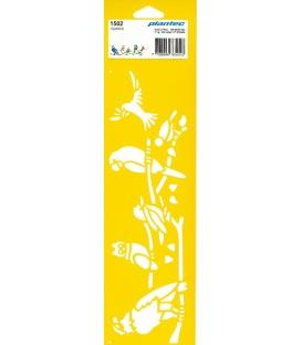 Στένσιλ 1502 Παπαγάλοι