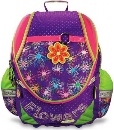 Τσάντα Δημοτικού Extreme4me Λουλούδια Flowers