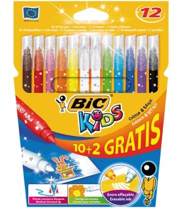 Μαρκαδόροι BIC 10 Χρ. Magic