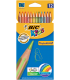 Ξυλομπογιές BIC 12 Χρ. Ζωντανά Χρώματα