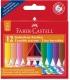 Κηρομπογιές Faber Castell 12 Χρ. Κραγιόν