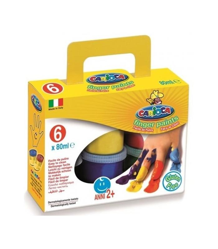 3f2429bc01 Δακτυλομπογιές Carioca 6 Χρ. Finger paints
