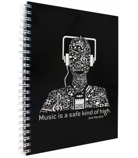 Make Notes A4 140φ. 1Θ Τετράδιο Σπ. Music