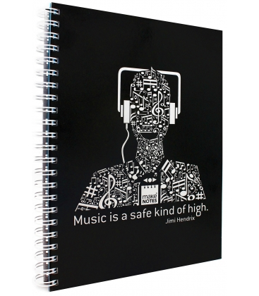 Τετράδιο Σπ. Α4 140φ. Make Notes Music