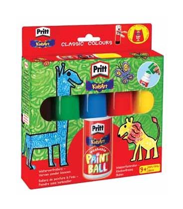 Χρώματα Pritt με βάση το νερό για μικρά παιδιά