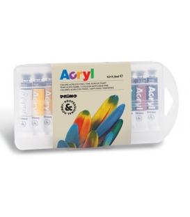 Ακρυλικά Χρώματα Acryl Σετ 12τ