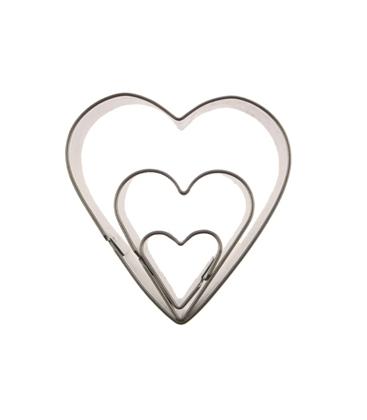 Καλούπια Μεταλικά Καρδιες