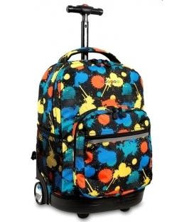 Σχολική Τσάντα Trolley JWORLD Splater
