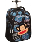 Σχολική Τσάντα Trolley Paul Frank Black Rose