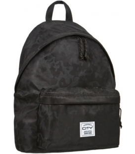 Σακίδιο πλάτης LYCsac CITY Black Camo LIMITED