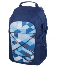 Σχολική Τσάντα be bag Fellow Blue Chacked Herlitz