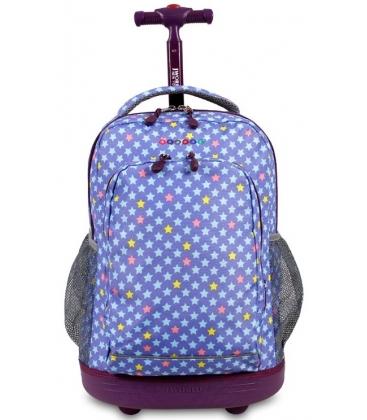 Σχολική Τσάντα Trolley JWORLD Litle star