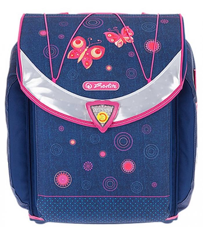 f46338f0013 Σχολική Τσάντα Flexi plus Πεταλούδες Herlitz - ΕΠΙΠΕΔΟ ΒΙΒΛΙΟΠΩΛΕΙΟ ...