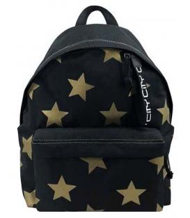 Σακίδιο πλάτης LYCsac GOLD STARS ON Black