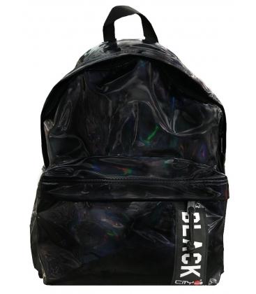 Σακίδιο πλάτης LYCsac City The Drop Trendy Mirror Black