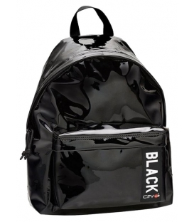 Σακίδιο πλάτης LYCsac City The Drop Trendy Mirror Black