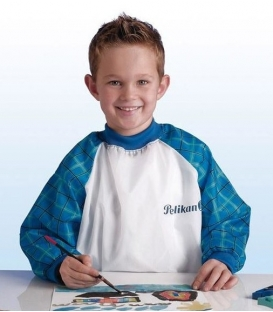 Παιδική Ποδιά Ζωφραφικής Pelikan Μπλε