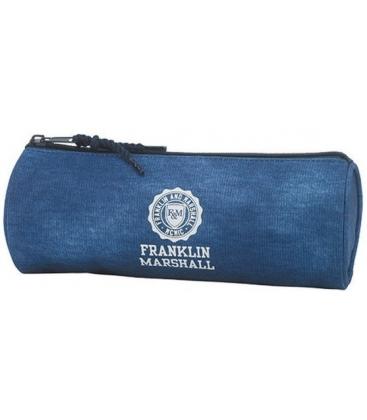 Κασετίνα Franklin Marshall Βαρελάκι blue