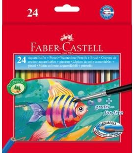 Ξυλομπογιές Ακουαρέλας Faber Castell 24 Xr.