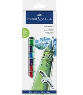 Ακρυλικά Faber Castell 12 Χρ.