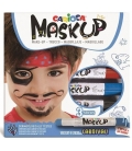 Μαρκαδόροι για το Πρόσωπο Carioca Mask Up Carnival