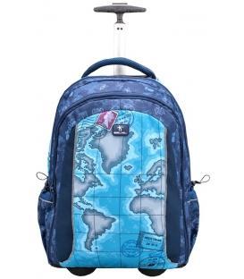Τσάντα Trolley BELMIL Easy Go Riding World Map 338-45