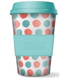 Ποτήρι Bamboo iDrink Dots 435ml ID0101