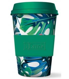 Ποτήρι Bamboo iDrink Jungle 435ml ID0105