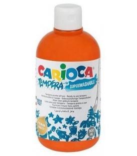 Τέμπερα 500ml Carioca 11 Πορτοκαλί 700γρ.