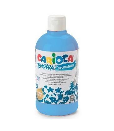 Τέμπερα 500ml Carioca 16 Ανοιχτό μπλε 700γρ.