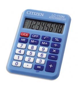Αριθμομηχανή Citizen LC-110NBL 8 ΨΗΦ. Μπλε