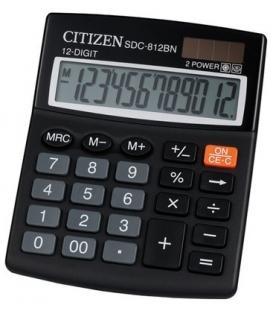 Αριθμομηχανή CITIZEN SDC-812NR, 12ψ 127x105mm