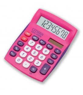 Αριθμομηχανή Citizen SDC450NBL 8 Digit Ροζ Desktop School and Office Calculator With Dual