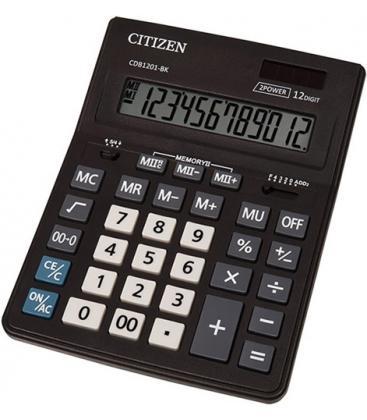 Αριθμομηχανή CITIZEN 12 Ψηφίων CDB1201-BK ΜΑΥΡΗ