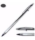 Στυλό BIC CRISTAL CELEBRATE SILVER medium ΜΑΥΡΗ ΜΕΛΑΝΗ ΜΥΤΗ 1.00mm