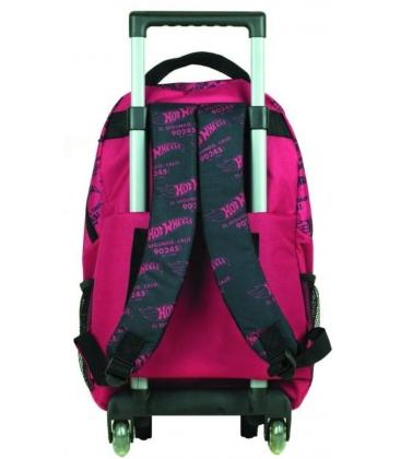 Σχολική Τσάντα Trolley GIM Hot Wheels Challenge 349-25074+Δώρο Εκτοξευτήρας