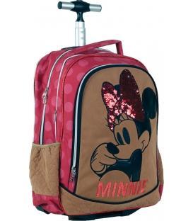 Σχολική Τσάντα Trolley GIM Minnie Suede 340-47074