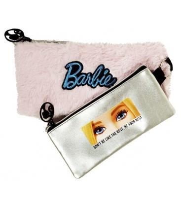 Κασετίνα Διπλή Barbie Fur Fashion 349-65151