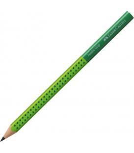 Μολύβι B Faber Castell 111932 Jumbo Grip Πράσινο/Λαχανί