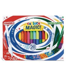 Μαρκαδόροι Carioca magic colors 18+2τεμ.
