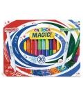 Μαρκαδόροι Carioca 18χρ Magic Colors 18+2