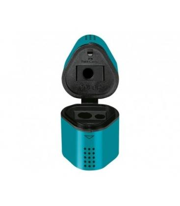 Ξύστρα Faber Castell 183803 Grip τριπλή turquoise