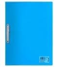 Φάκελος με έλασμα PP Tetris Διαφανές Μπλε