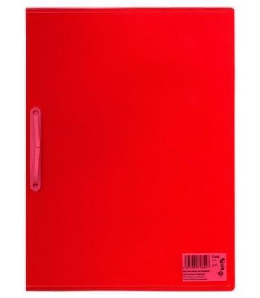 Φάκελος με έλασμα PP Tetris Διαφανές Κόκκινο