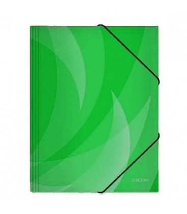 Φάκελος με Λάστιχο Shadow Tetris Πράσινο