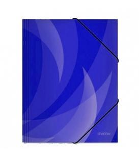Φάκελος με Λάστιχο Shadow Tetris Μπλε