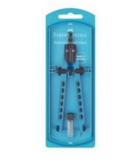 Διαβήτης Faber Castell Factory Blue 174340